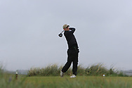 Ben Crawford (Greenacres) on the 8th tee during Round 3 of the Ulster Boys Championship at Donegal Golf Club, Murvagh, Donegal, Co Donegal on Friday 26th April 2019.<br /> Picture:  Thos Caffrey / www.golffile.ie