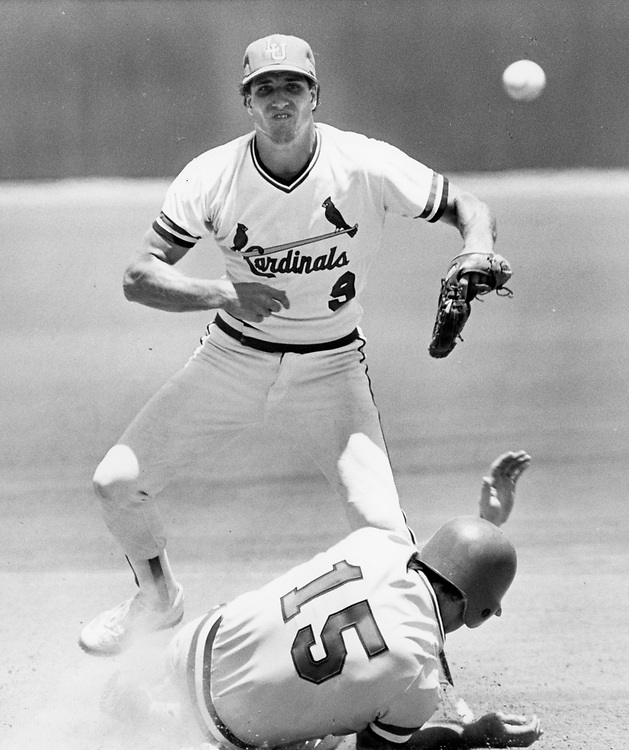 ©1982  College baseball with the University of Texas at Austin vs. collegiate opponents.