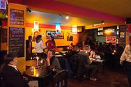 Inside the Indigo bar