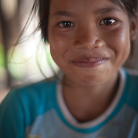 Sok Leng, 12, lives in a village where World Renew's partners run programmes. World Renew works through its partners across rural Cambodia on community development projects.
