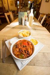 The spicy bean nachos. Pillars of Hercules, Falkland, Fife, Tam Cowan review