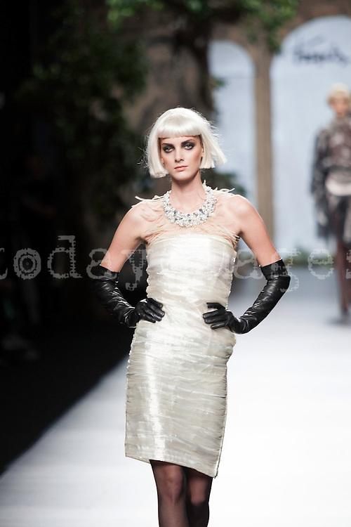 Francis Montesinos in Mercedes-Benz Fashion Week Madrid 2013