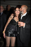 SUSAN YOUNG; RICHARD YOUNG, Nightclubbing book launch: Richard Young. Rosewood. London, 252 High Holborn, 24 November 2014.