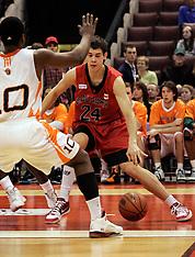 2010 CIS Men's Basketball - Calgary -Quarterfinals