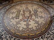 Floor tiling details in Koln Cologne Dom Cathedral.