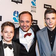 NLD/Hilversum/20150217 - Inloop Buma Awards 2015, Niels Geusenbroek