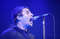 Manchester: Liam Gallagher playing a concert - 30 May 2017