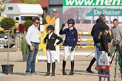 Spits Patrick, BEL and daughter<br /> Belgisch Kampioenschap Children<br /> Azelhof - Koningshooikt 2018<br /> © Hippo Foto - Dirk Caremans<br /> 13/05/2018