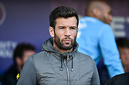 Rochdale Manager, Brian Barry-Murphy during the EFL Sky Bet League 1 match between Portsmouth and Rochdale at Fratton Park, Portsmouth, England on 13 April 2019.