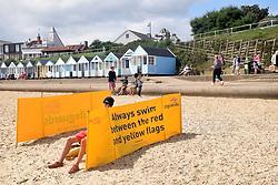 Lifeguard Southwold, Suffolk UK August 2017