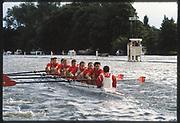 Henley, Great Britain,  Men's Eights, Mercantile RC., Sydney AUS, 1988 Henley Royal Regatta, Henley Reach, River Thames, Annual Event. [Mandatory credit: Peter Spurrier/Intersport Images]