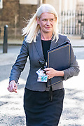 Conservative Party Chairwoman Amanda Milling arrives in Downing Street on Tuesday, 21 July 2020 – to attend a Cabinet meeting for the first time since the lockdown to be held at the Foreign and Commonwealth Office (FCO) in London. (VXP Photo/ Vudi Xhymshiti)