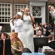 NLD/Amsterdam//20170805 - Gay Pride 2017, T-Spoon , Linda Estelle en Shalamon Baskin