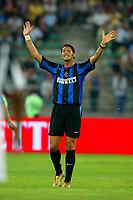 Bari 3/8/2004 Trofeo Birra Moretti - Juventus Inter Palermo. <br /> <br /> Marco Materazzi Inter <br /> <br /> Risultati / results (gare da 45 min. each game 45 min.) <br /> <br /> Juventus - Inter 1-0 Palermo - Inter 2-1 Juventus b. Palermo dopo/after shoot out <br /> <br /> Photo Andrea Staccioli