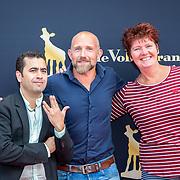 NLD/Utrecht/20170923 - Première Dummie de Mummie en de Tombe van Achnetoet, Yahya Galer, schrijfster Tosca Menten en ........