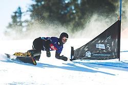 Dmitry Loginov (RUS) during parallel giant slalom FIS Snowboard Alpine world championships 2021 on 1st of March 2021 on Rogla, Slovenia, Slovenia. Photo by Grega Valancic / Sportida