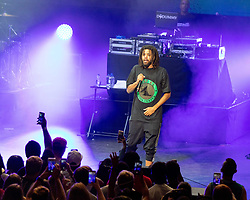 July 3, 2018 - Milwaukee, Wisconsin, U.S - J. COLE during Summerfest Music Festival at Henry Maier Festival Park in Milwaukee, Wisconsin (Credit Image: © Daniel DeSlover via ZUMA Wire)