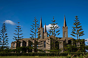 Sanu Cathedral Church in the Roman Catholic Diocese of Mbulu. Manyara district, Tanzania.  It is one of largest Catholic churches in East Africa and a beautiful landmark in Mbulu City. It was established in 1943.