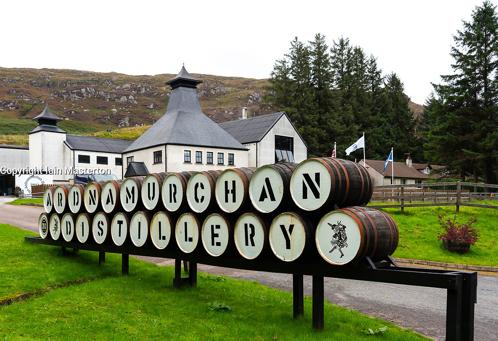 Ardnamurchan Distillery on Ardnamurchan Peninsula , Highland Region, Scotland, UK