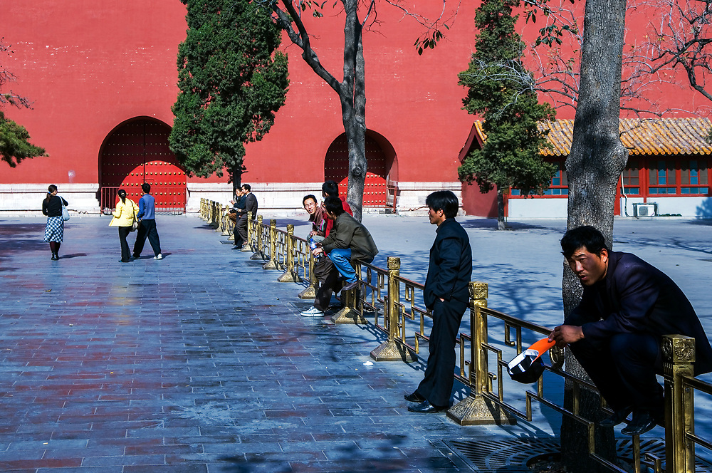 The Forbidden City (Imperial Palace),Beijing.