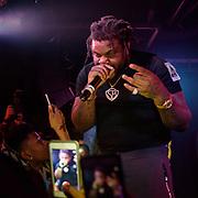 WASHINGTON, DC - December 15th, 2017 - Fat Trel performs at U Street Music Hall in Washington, D.C.  (Photo by Kyle Gustafson / For The Washington Post)