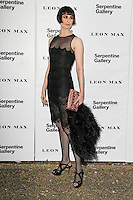 LONDON - JUNE 26: Erin O'Connor attended the Serpentine Gallery summer party, Kensington Gardens, London, UK. June 26, 2012. (Photo by Richard Goldschmidt)