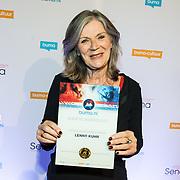 NLD/Utrecht/20171002 - Uitreiking Buma NL Awards 2017, Lenny Kuhr wint de Lifetime Achievement Award
