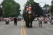 06: CIRCUS PARADE ELEPHANTS, HORSES