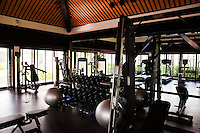 Nam Hai Resort Gymnasium.