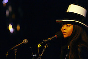 Erykah Badu at The 3rd Annual Black Girls Rock Awards held at the Rose Building at Lincoln Center in New York City on November 2, 2008..BLACK GIRLS ROCK! Inc. is a 501 (c)(3) nonprofit, youth empowerment mentoring organization established for young women of color.  Proceeds from ticket sales will benefit BLACK GIRLS ROCK! Inc.?s mission to empower young women of color via the arts.  All contributions are tax deductible to the extent allowed by