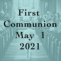 St Catherine 1st Communion 05-01-21