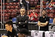 DESCRIZIONE: Milano Lega A 2014-15 <br /> EA7 Emporio Armani Granarolo Bologna<br /> GIOCATORE: Giorgio Valli<br /> CATEGORIA: allenatore coach - before pregame<br /> SQUADRA: Granarolo Bologna<br /> EVENTO: Play-off quarti di finale gara 2 2014-2015<br /> GARA: EA7 Emporio Armani Granarolo Bologna<br /> DATA: 20/05/2015<br /> SPORT: Pallacanestro<br /> AUTORE: Agenzia Ciamillo-Castoria/A. Ossola<br /> Galleria: Lega Basket A 2014-2015<br /> Fotonotizia: Milano Lega A 2014-15 <br /> EA7 Emporio Armani Granarolo Bologna