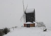 Brill Windmill in the snow,brill buckinghamshire 24th jan 2021photo by Brian Jordan