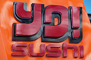 Sign for food chain Yo Sushi.
