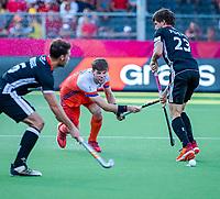 ANTWERPEN - Lars Balk (Ned)   tijdens  de troostfinale mannen om de derde plaats, Duitsland-Nederland (0-4) ,  bij het Europees kampioenschap hockey.    COPYRIGHT KOEN SUYK