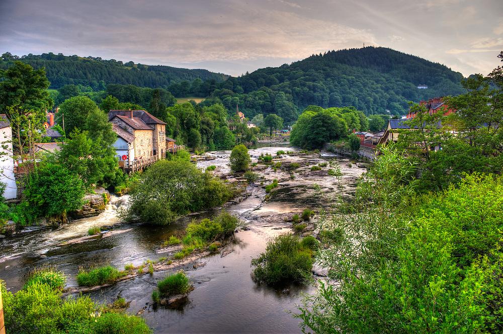 View from Llangollen bridge