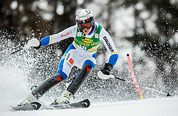 Anna Swenn-Larsson (SWE) competes during 1st Run of the 8th Ladies' Slalom at 52nd Golden Fox - Maribor of Audi FIS Ski World Cup 2015/16 before the race was cancelled due to soft snow and safety issues, on January 31, 2016 in Pohorje, Maribor, Slovenia. Photo by Vid Ponikvar / Sportida