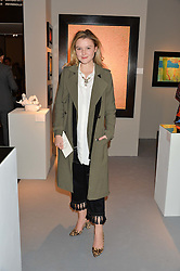 AMBER ATHERTON at the PAD London 10th Anniversary Collector's Preview, Berkeley Square, London on 3rd October 2016.