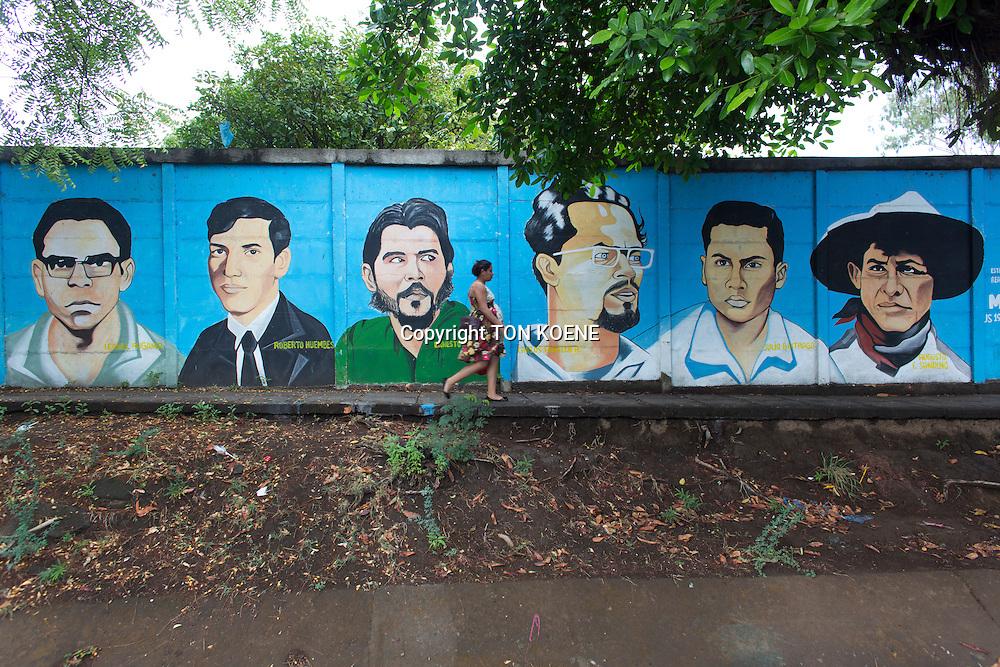 revolutionaries in nicaragua