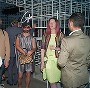 LYALL HAKARAIA, The Serpentine Summer Party 2013 hosted by Julia Peyton-Jones and L'Wren Scott.  Pavion designed by Japanese architect Sou Fujimoto. Serpentine Gallery. 26 June 2013. ,