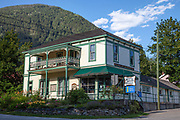 Silvery Slocan Museum, New Denver, Slocan Valley, West Kootenay, British Columbia, Canada