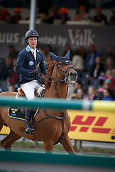 Lindelow Douglas, (SWE), Casello<br /> Furusiyya FEI Nations Cup™ presented by Longines<br /> CHIO Rotterdam 2015<br /> © Hippo Foto - Dirk Caremans<br /> 19/06/15