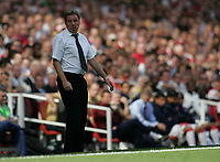 Photo: Lee Earle.<br /> Arsenal v Portsmouth. The FA Barclays Premiership. 02/09/2007.Portsmouth manager Harry Redknapp.