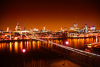 City of London & Millennium Bridge