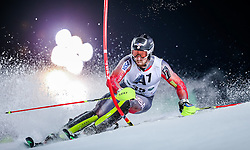 26.01.2016, Planai, Schladming, AUT, FIS Weltcup Ski Alpin, Schladming, Slalom, Herren, 1. Durchgang, im Bild Michael Ankeny (USA) // Michael Ankeny of the USA competes during his 1st run of men's Slalom Race of Schladming FIS Ski Alpine World Cup at the Planai in Schladming, Austria on 2016/01/26. EXPA Pictures © 2016, PhotoCredit: EXPA/ Johann Groder