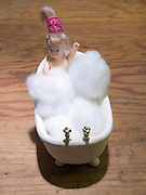 doll in bath tub