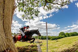 Vermonden Tom (BEL) - Alaric de Lauzelle<br /> LRV Nationaal Kampioenschap Eventing - Tongeren 2013<br /> © Dirk Caremans