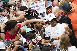 August 31, 2017 - Monza, Italy - Motorsports: FIA Formula One World Championship 2017, Grand Prix of Italy, ..#44 Lewis Hamilton (GBR, Mercedes AMG Petronas F1 Team) (Credit Image: © Hoch Zwei via ZUMA Wire)