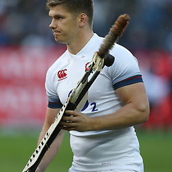 Owen Farrell (captain) of England during the 2018 Castle Lager Incoming Series 3rd Test match between South Africa and England at Newlands Rugby Stadium,Cape Town,South Africa. 23,06,2018 Photo by (Steve Haag JMP)