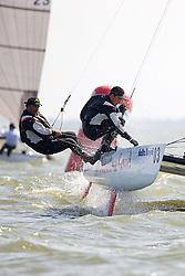 08_003511 © Sander van der Borch. Medemblik - The Netherlands,  May 24th 2008 . Day 4 of the Delta Lloyd Regatta 2008.